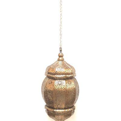 Perforated Moroccan Hanging Lantern