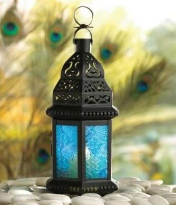 Blue Glass Decorativ