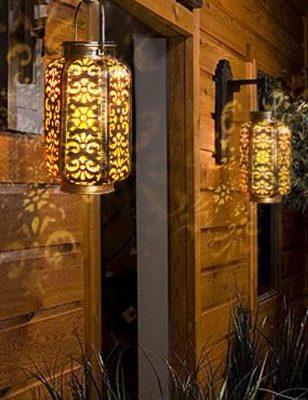 Solar Powered Outdoor Lantern