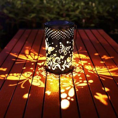 Butterfly Decorative Solar Lantern