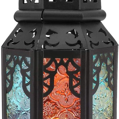 Moroccan Iron Candle