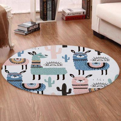 Alpaca Pattern Round