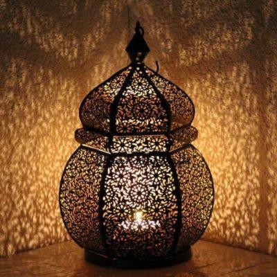 Attractive Moroccan Garden Candle Holder