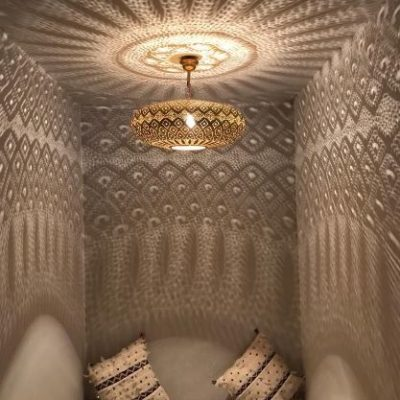 Hanging Moroccan Ceiling Light
