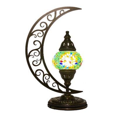 Moroccan Lunar Charm Table Lamp