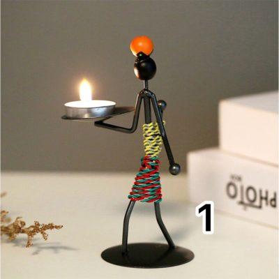 Stick Man Tealight C