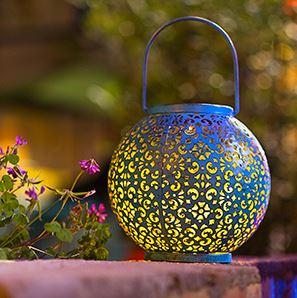 Big Hanging Moroccan Garden Lantern