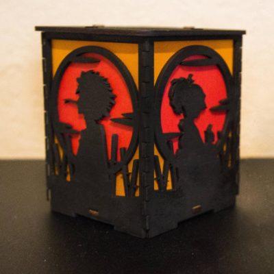 Handmade Sun Silhoue