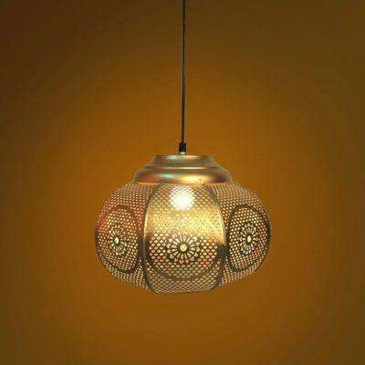 Golden Moroccan Vintage Lamp