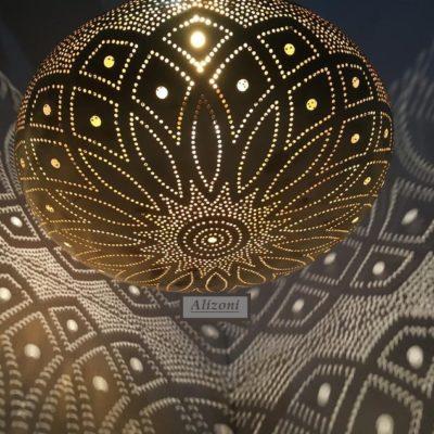 Beautiful Handmade Moroccan Brass Pendant Light