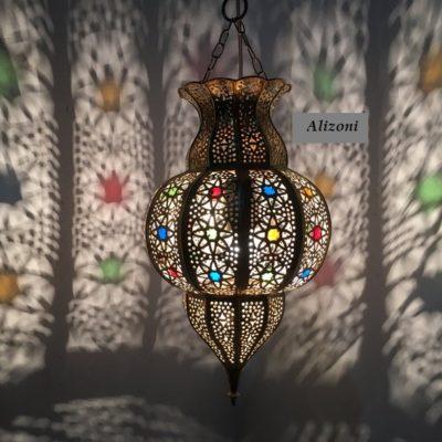 Handmade Colorful Moroccan Pendant Light