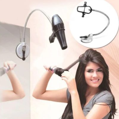 Hands Free Hair Dryer Holder 360 Degrees