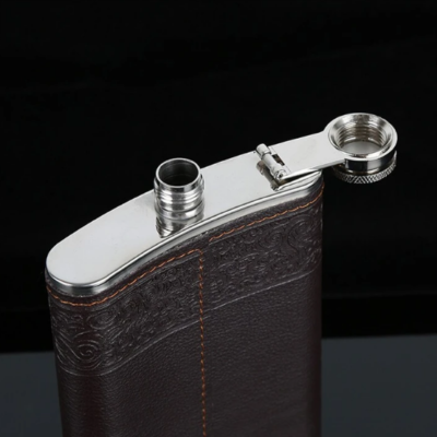 Flask Set Stainless