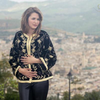 Hafifah Caftan Moder