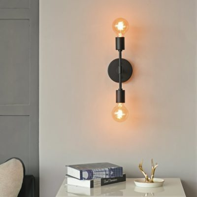 Light Black Wall Sco