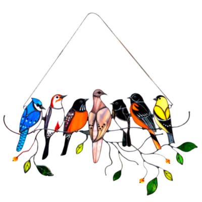 7 Birds Window Decor