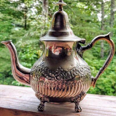 Handmade Moroccan teapot