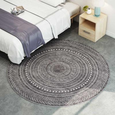 Moroccan Round Carpe