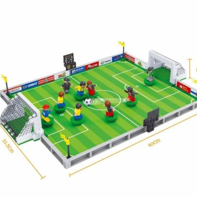 3D Football Field Mini Model Building Blocks Puzzle Toy