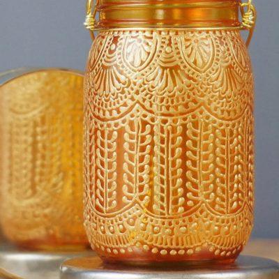 Handmade Henna Candl