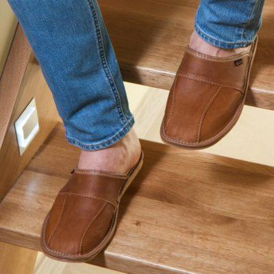 Handmade Brown Leath