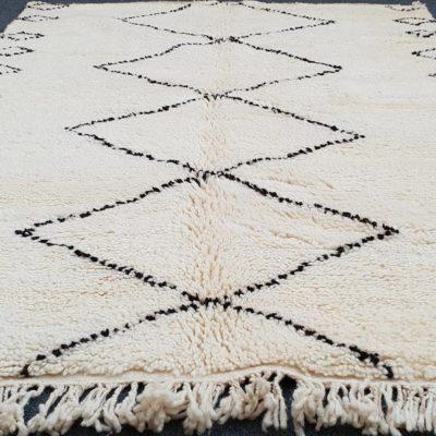 Handmade Authentic Moroccan Wool Berber Carpet