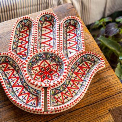 Handmade Large Hamsa Hand of Fatima