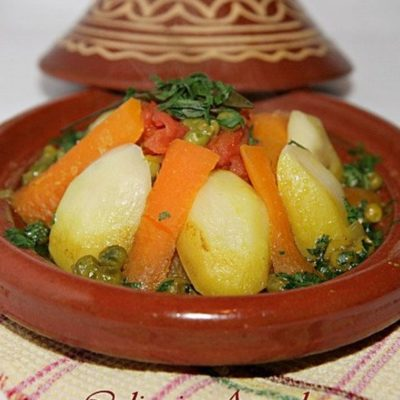 100% Ceramic Moroccan Tagine for Cooking