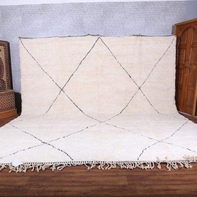 Handmade Moroccan Rug – Beni ourain rug