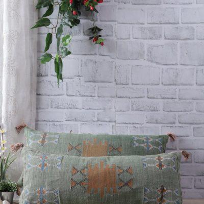 Green Moroccan Silk