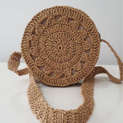 Handmade Knitted Bag | Crochet Bag