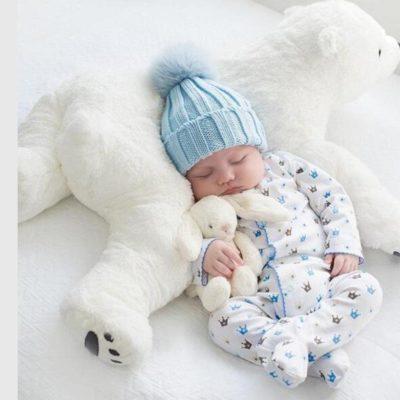 Beautiful Polar Bear Plush