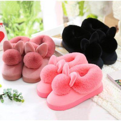 Cute Rabbit Slippers For Women