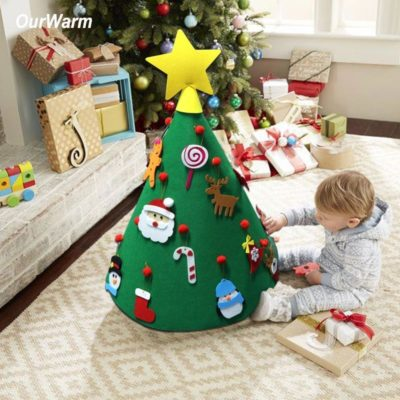 Felt Christmas Tree Decoration For Kids