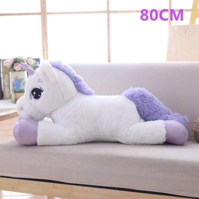 Cute lying unicorn s