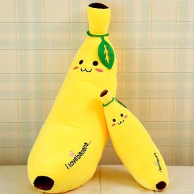 Plush Banana Cushion