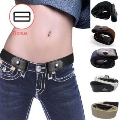 Elastic belt without