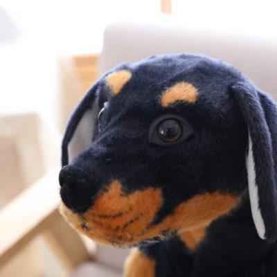 Rottweiler Dog Plush