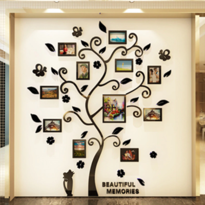 3D Acrylic Tree Wallpaper